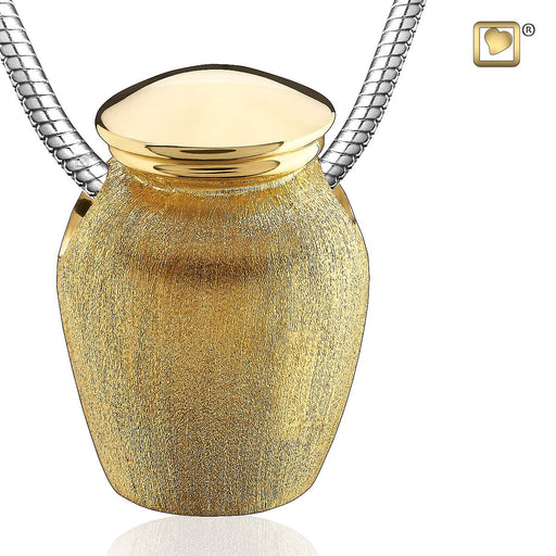 PENDANT Urn™ Gold Vermeil Two Tone
