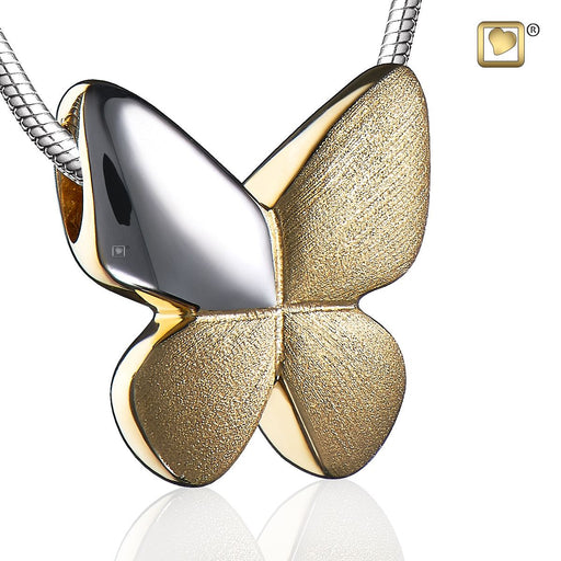PENDANT Butterfly™ Gold Vermeil Two Tone