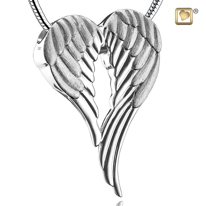 PENDANT Angel Wings™ Rhodium Plated Two Tone