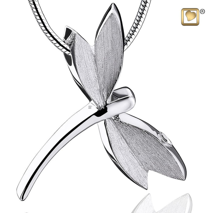 PENDANT Dragonfly™ Rhodium Plated Two Tone
