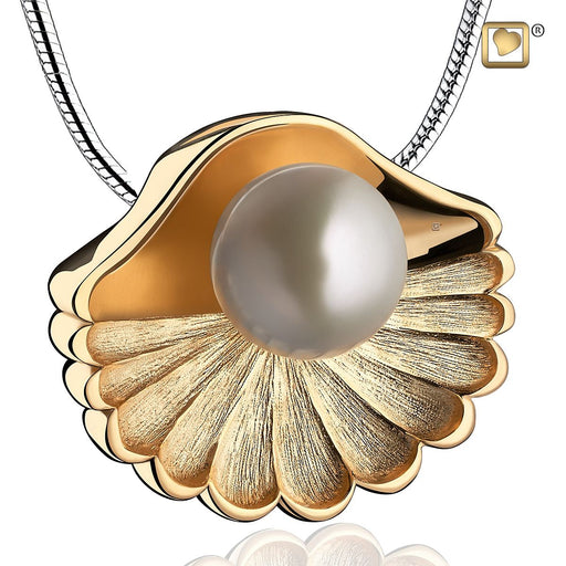 PENDANT Sea Shell™ Pearl Gold Vermeil Two Tone