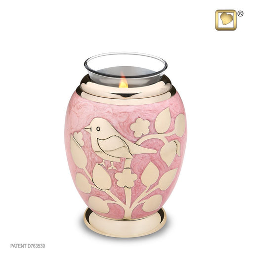 TEALIGHT GOLD BLESSING BIRDS™