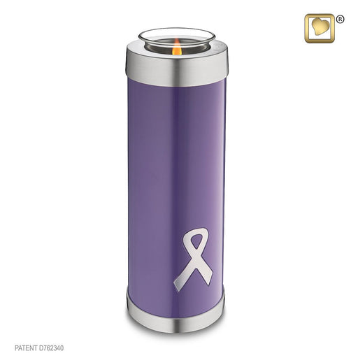 TEALIGHT AWARENESS PURPLE TALL™