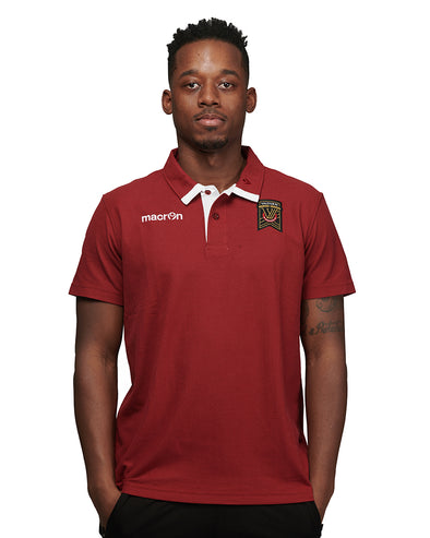 Macron Swing Maroon Polo