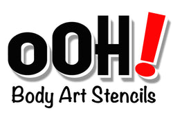 Ooh! Body Art Stencils