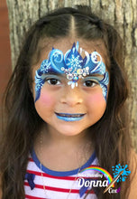 Load image into Gallery viewer, C05 Snowflake Flip Face Paint Stencil 1