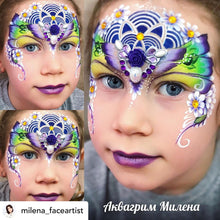 Load image into Gallery viewer, S06 Mandala Sphere Airbrush & Face Paint Stencil