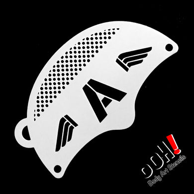 K04 Sergeant Patriot Mask Stencil