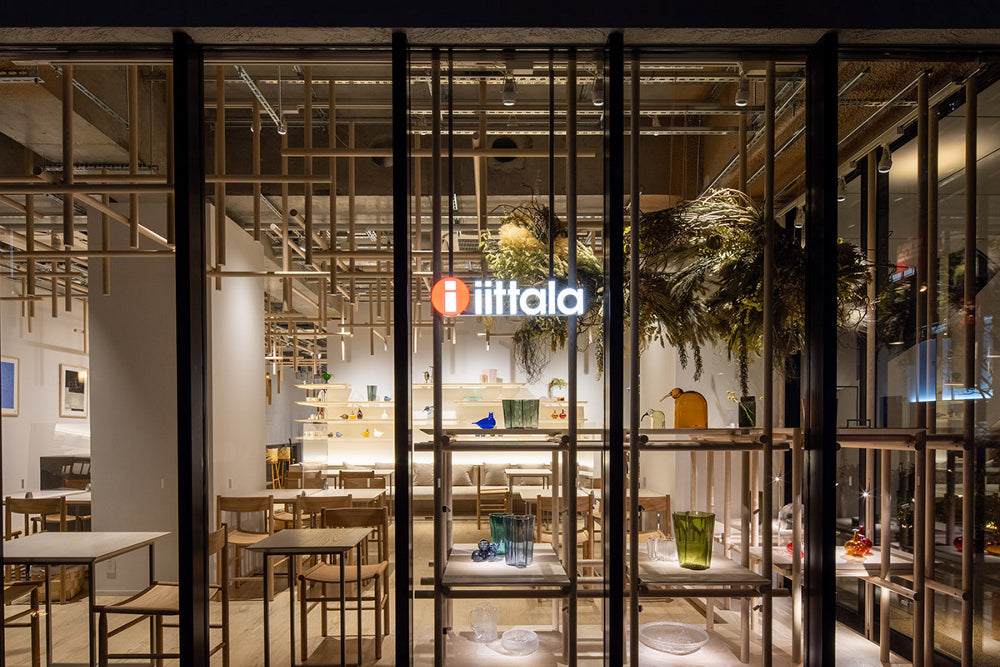 Iittala celebrates its 140th anniversary with a new Tokyo flagship store