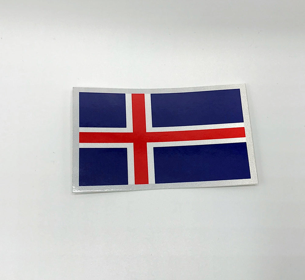 Reflective Flag Decal