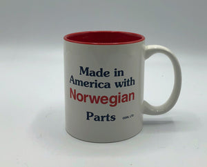 Made in America with ___ Parts Mug