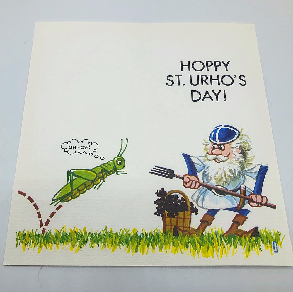 St. Urho's Day Cards
