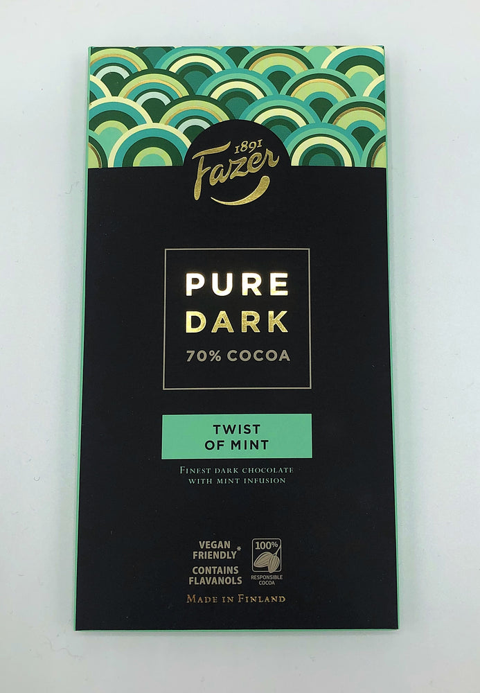 Fazer Pure Dark Chocolate Bars