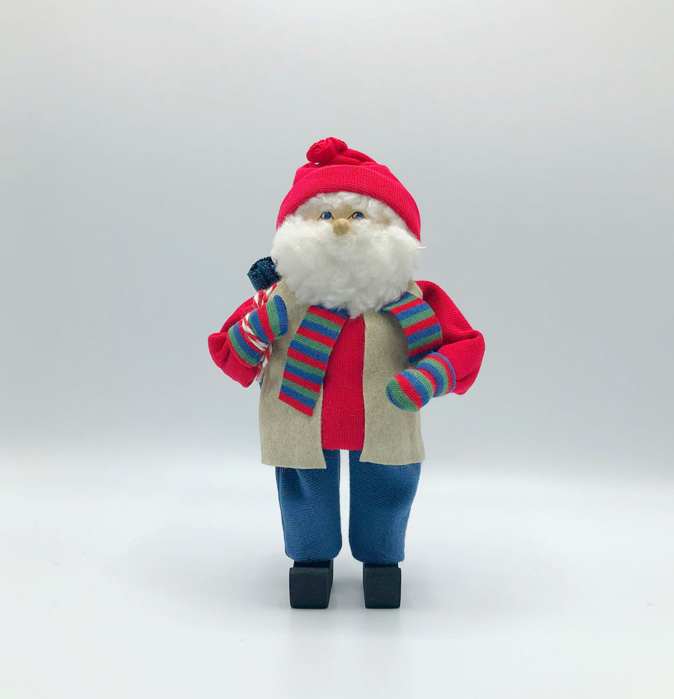 Butticki Tomte with striped scarf