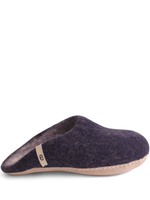 Felted Wool Slipper - Blue - Egos Copenhagen