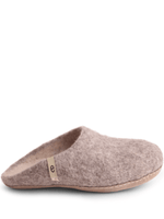 Felted Wool Slipper - Gray - Egos Copenhagen