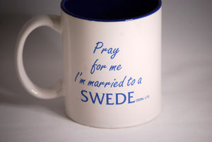 Married a Swede Mug