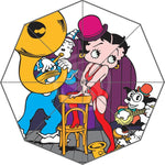 WY612H12 New Custom Betty Boop Umbrella Sunny and Rainy Sunscreen Anti-uv Umbrella Wy12