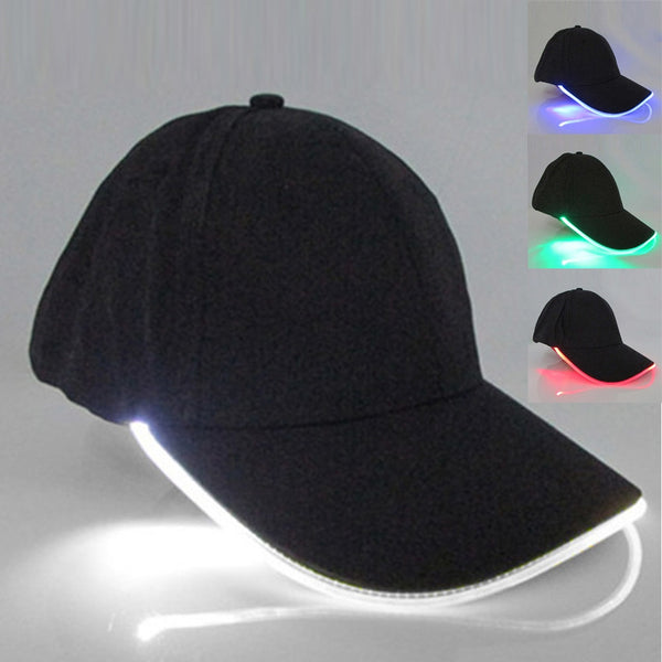 Gorra LED 4 Colores