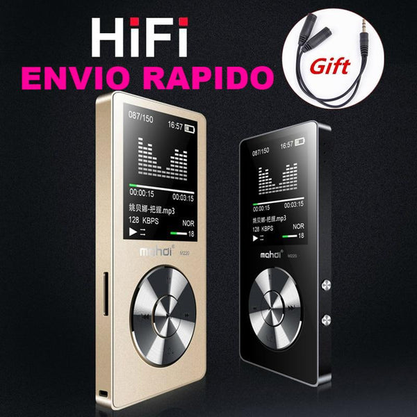 HIFI   MP3 FM reproductor de Video e-book grabadora función  reloj 8 GB
