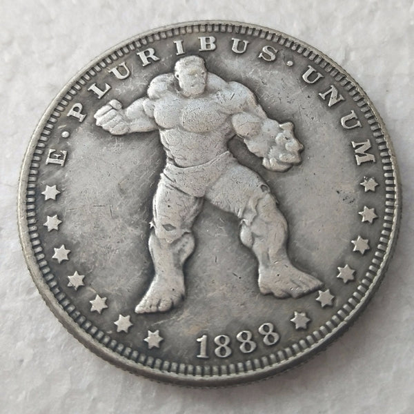 1 dollar moneda xl hulk