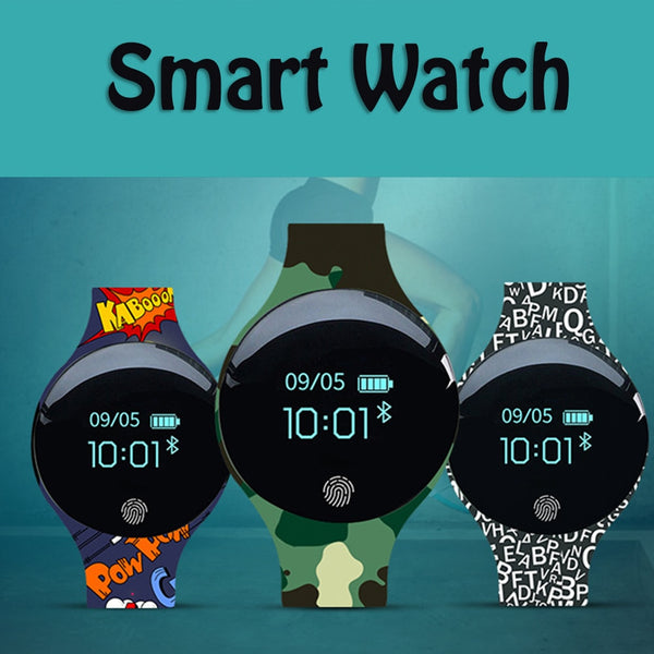 Bluetooth Smart Watch  impermeable  SMS QQ Podómetro