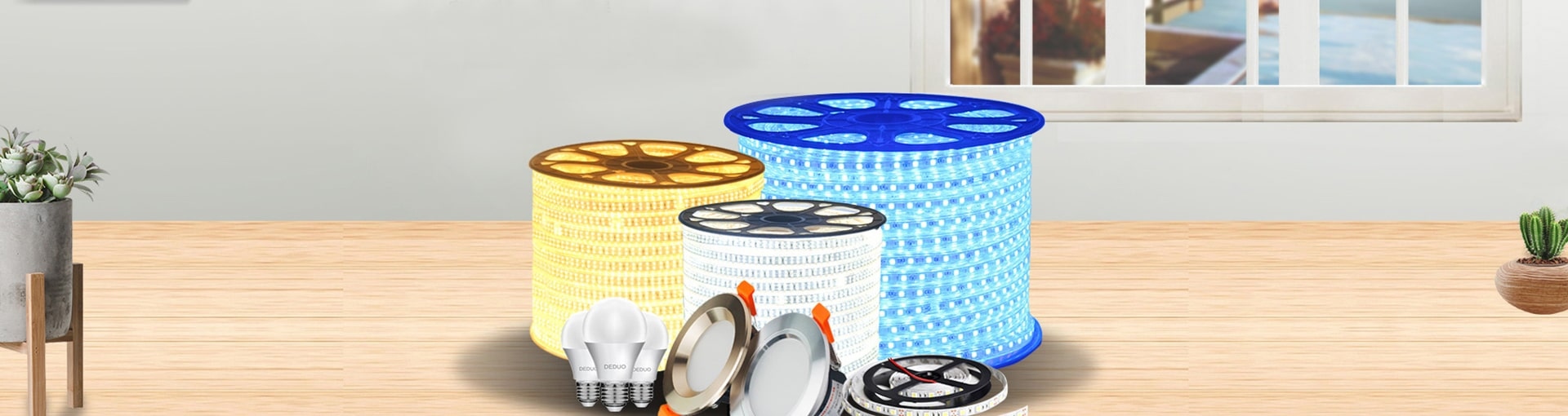 LED Strip Lights Banner