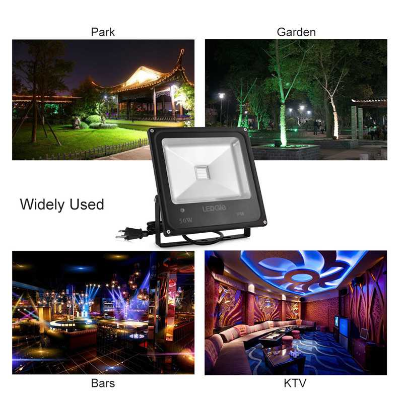 50W Infrared Floodlights Outdoor LED Flood Lights