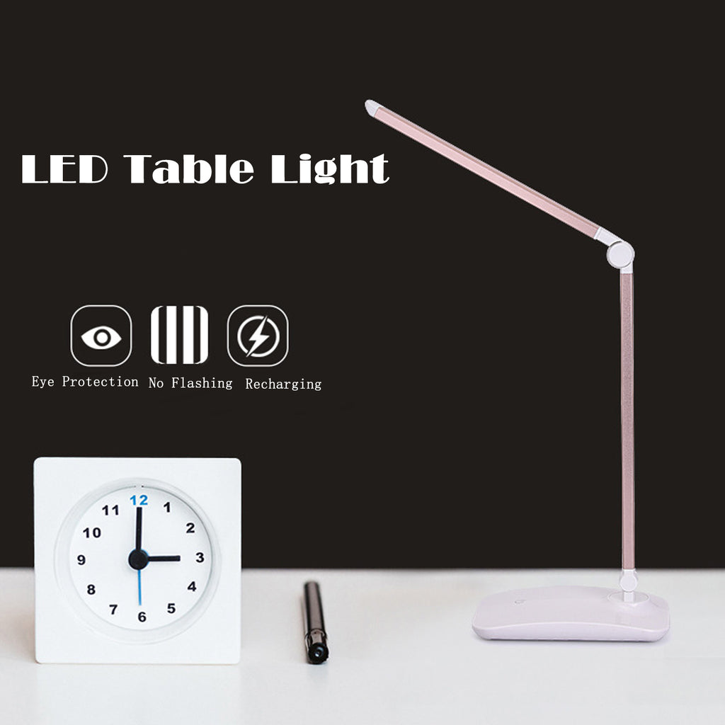 Rotatable Touch Control Black LED Table Lamps