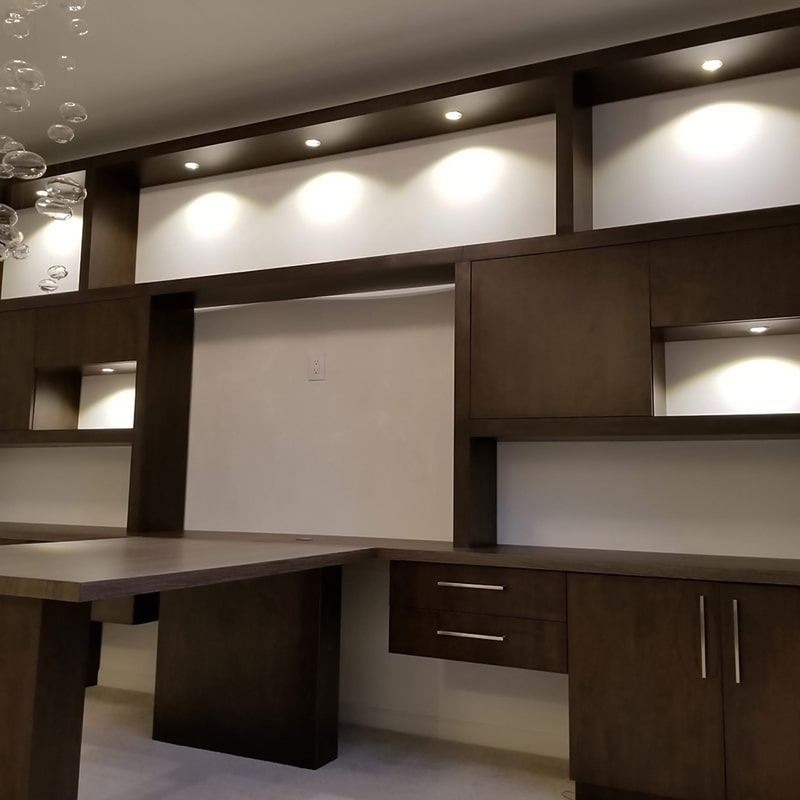 3W LED Non-dimmable Warm White Under Cabinet Lights -LEDGLE on Non Lighting Sconces id=20873