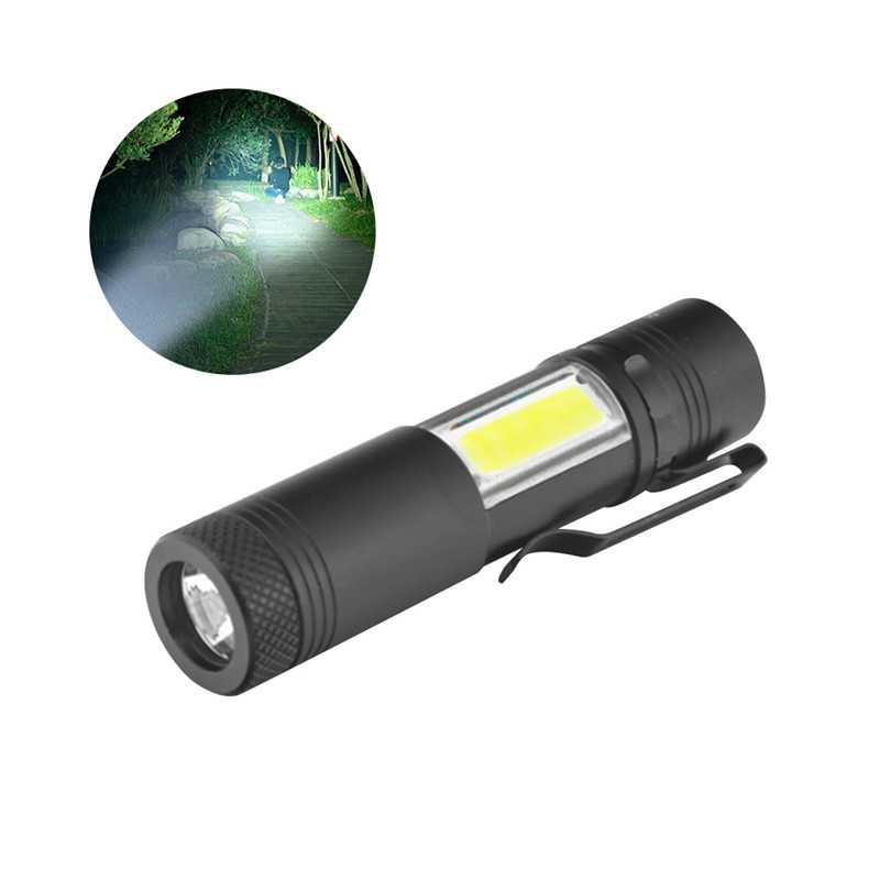 Battery Powered Mini Flashlight LED Torch Lights