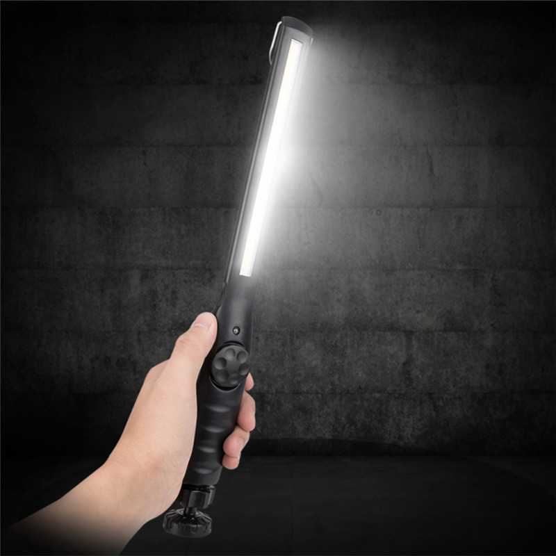 10W Dimmable COB Flashlight Torch Lamps