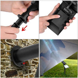 5 Modes Sensor Lights Solar Outdoor Wall Lamps
