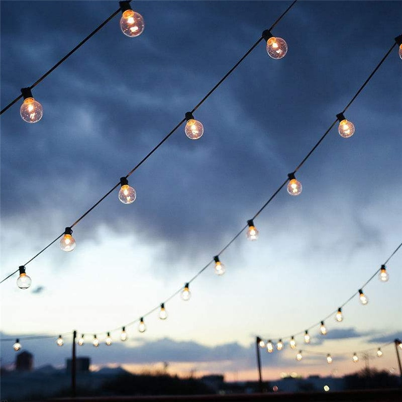 1.5W Waterproof Flexible Patio Outdoor String Lights