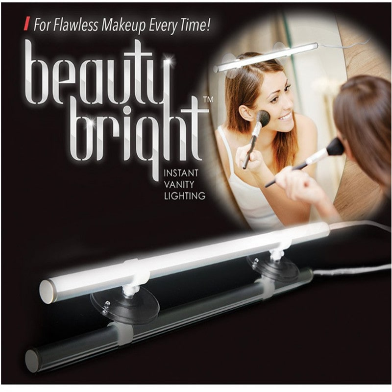 10W USB LED Makeup Cosmetic Mirror Front Lamp