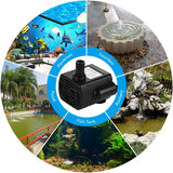 Mini Fountain Submersible Water Tank Pumps