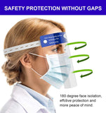 Safety Face Shield Full Protection Spitting Anti-Fog Lens