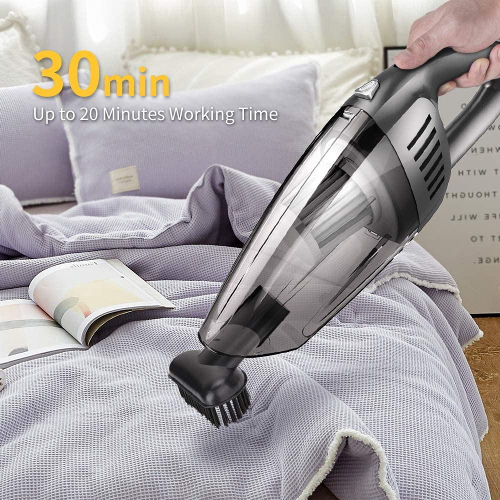 120W Handheld Car Vacuum Cleaner for Car Home Hair Office Cleaning
