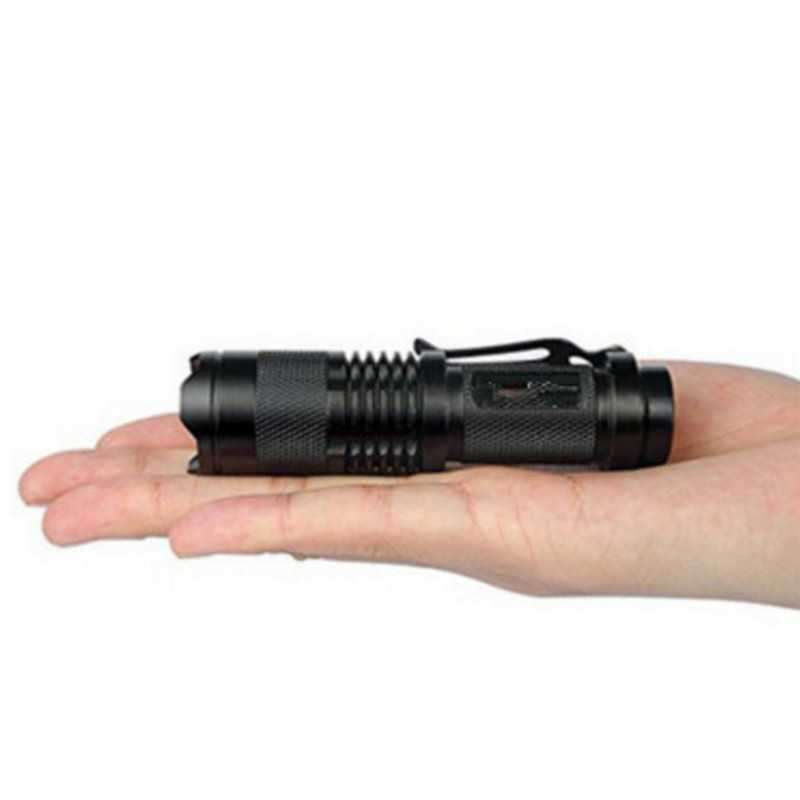 3 Modes Battery Powered Mini Flashlight Torches