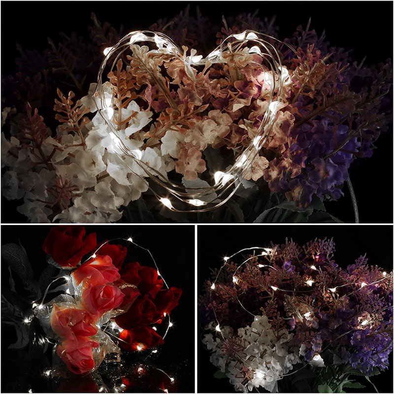 Insulated & Waterproof LED Copper Wire String Lights