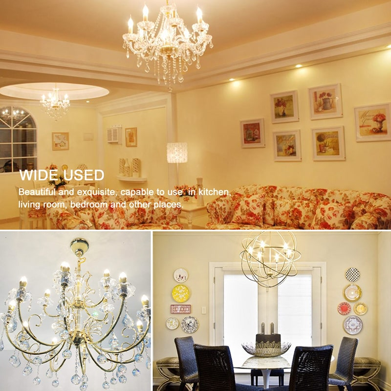 4W Dimmable Warm White E14 LED Bulbs