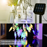 Ghost Shape Waterproof Solar String Lights For Halloween