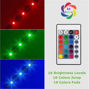 16 Colors USB Plug TV Backlight LED Strip Lights