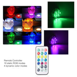 16 Colors Switching LED Submarine Fish Tank Lights