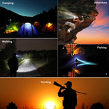 4 Lighting Modes Rechargeable LED Headlights