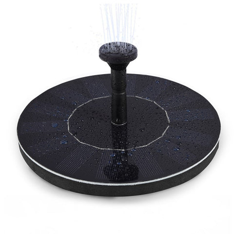 1.4W Solar Floating Fountain Pumps With 4 Different Nozzles