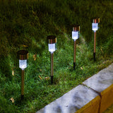 Outdoor Waterproof Compact LED Solar Pathway Lights
