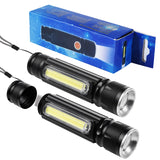 10W 4 Light Modes Mini Portable T6 LED Flashlights