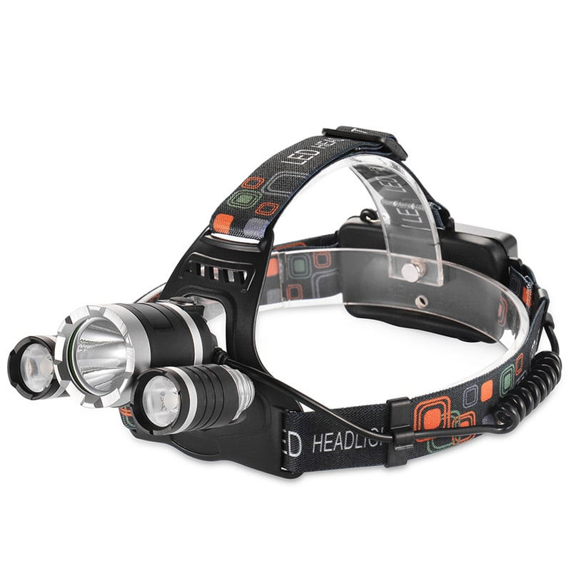 800lm Adjustable Bright Headlight Outdoors Headlamps