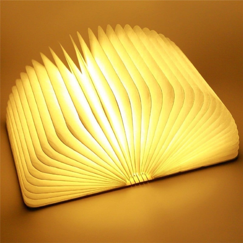 Foldable Rechargeable Magnet LED Book Lights